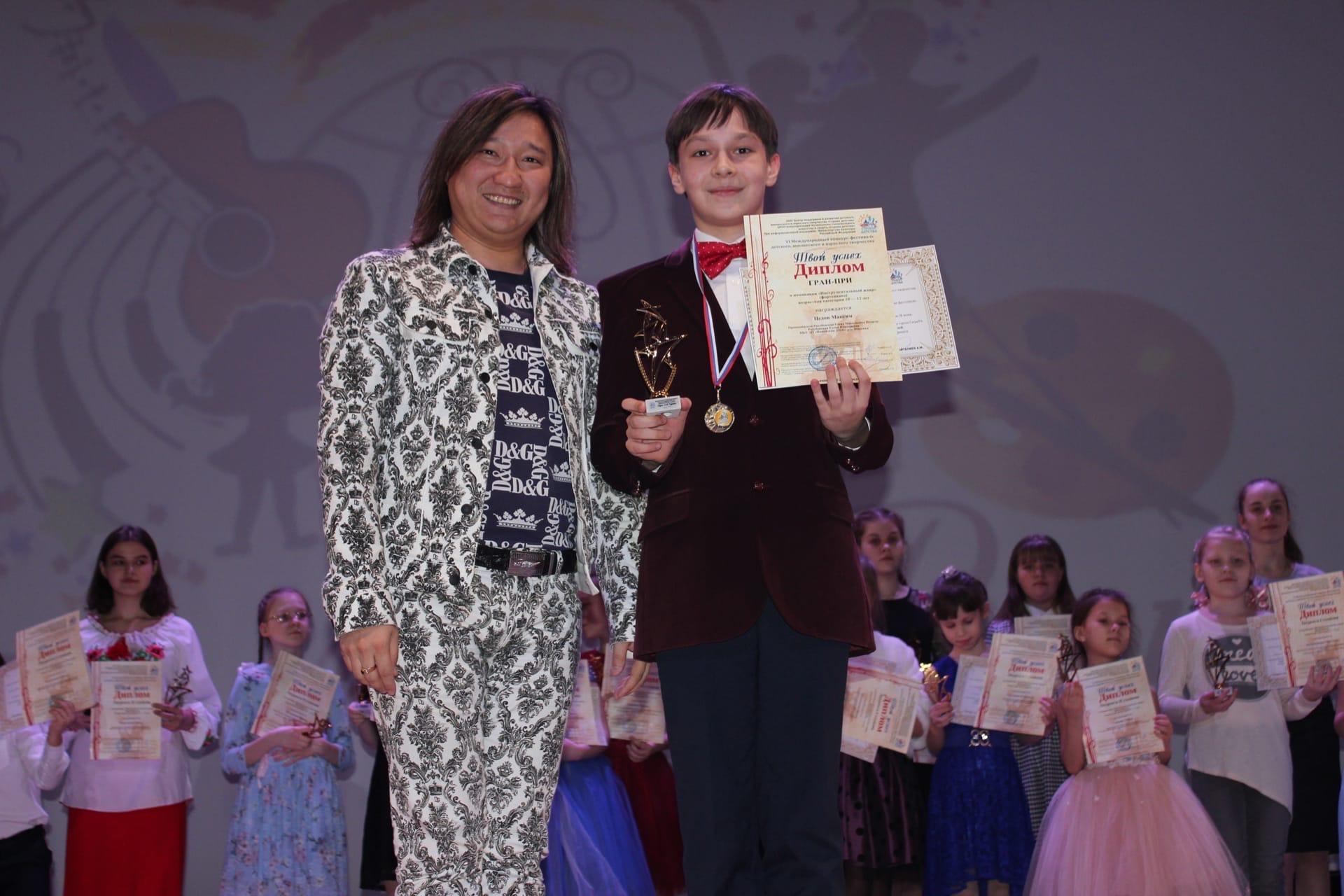 В рамках международного проекта «Душа моей Родины» 20-23 февраля состоялся VI Международный фестиваль-конкурс детского и юношеского творчества «Твой успех».